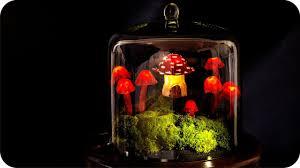 Mushroom Home Decor Diy Miniature Fairy Garden Terrarium Enchanted Mushroom Lights