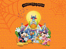 orange halloween hd background disney halloween hd background wallpaper 21681 baltana