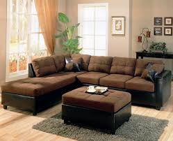 living room brown leather sectional decorating ideas room sofa