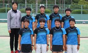 ソフトテニス 高校 女子 島根県立浜田高等学校