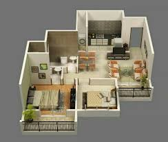 Small House Building Plans Architecture Simple Small Two Bedroom House Building Plan With