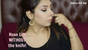 pain free nose exercise shorten u0026 lift without surgery makeup