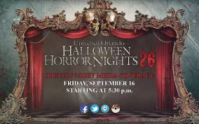 halloween horror nights 2016 passholder hhn 26 horror night nightmares