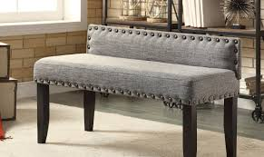 Upholstered Dining Bench Bench High Back Banquette Awesome On Modern Home Decor Ideas