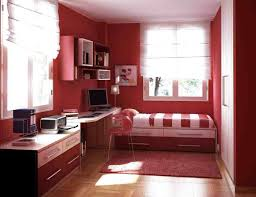 Red Bedroom by Paint Ideas For Studio Apartments Bedroom And Living Room Image