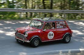 2007-06-08 1712. Image 2 of 2. 2007-06-08 1712. Austin Mini Cooper S Mk I 1967. Günther Schrems, Reinhard Kröpfl Gaisbergrennen 2007 - 2007-06-08%201712