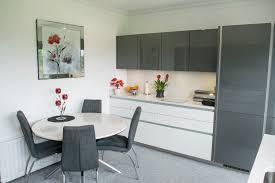 Handleless Kitchen Cabinets Metallic Grey Handle Less Kitchen Kitchens Northern Ireland