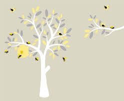 Tree Decal For Nursery Wall by Nursery Decals Wall Decals Vinyl Tree Modern Decals