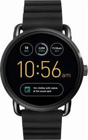 fossil black friday 2017 fossil q wander gen 2 smartwatch 45mm black ftw2103 best buy