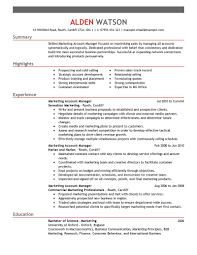 Resume Summary For Account Manager Resume  cv resume samples      Resume Summary For Account Manager   Resume