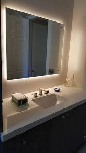 Bathroom Mirror Ideas On Wall Best 20 Bathroom Mirrors With Lights Ideas On Pinterest Vanity