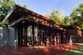 crystal bridges museum opens frank lloyd wright usonian house