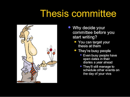 What is ph d thesis writing Thesis committee