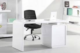 Modern White Office Desks White Home Office Desks In High Gloss Finish With Storage Home