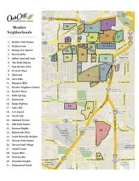 Downtown Dallas Map by Map The Neighborhoods Of Oak Cliff Oak Cliff