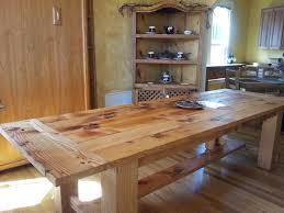 pine dining room table 9231