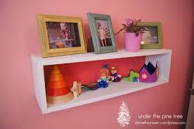 Floating Box Shelves by Diy Floating Shelf Under The Pine Tree