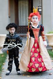 Red Queen Halloween Costume Tim Burton Children U0027s Costumes Edward Scissorhands