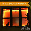 Halloween Decorations: DIY Vinyl Window Stickers! - Practically ...