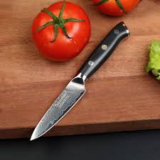 kitchen knives damascus cut g10 handle high quality sunnecko