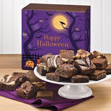 Halloween Gift Basket by Halloween Morsel 24 Halloween Gourmet Brownie Gift Baskets Delivered