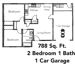2 Bedroom 1 Bath Floor Plans 2 Bedroom Apartments Tyner Ranch Apartments