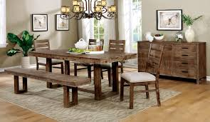 lidgerwood cm3358t dining table in natural tone finish w options