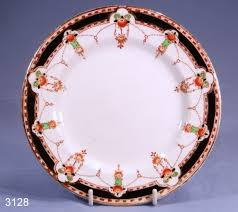 colclough royal vale hand painted vintage bone china tea plate