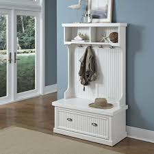 Storage Bench With Hooks by Hall Tree With Storage Bench And Baskets Bench Decoration