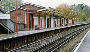 Hurst Green railway station