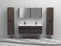 55 Inch Double Sink Bathroom Vanity by Catchy Wall Mounted Double Vanity And Abersoch 55 Inch Wall