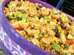 wagon wheel taco pasta salad i have a weakness for pasta salads
