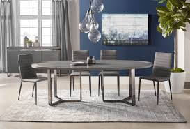 Oval Dining Room Tables Malone Oval Dining Table