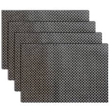 amazon com placemats heat resistant placemats pvc placemats