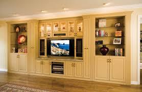 Custom Painted Media  Wall Unit By Valet Custom Cabinets - Family room wall units