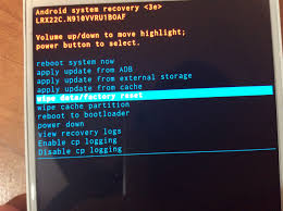 how to factory reset or wipe the cache on your samsung galaxy