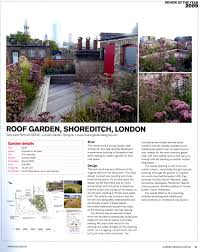 london garden designer in the media