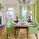 Green Dining Room Decor Ideas : Homeinteriorndesign – Home ...