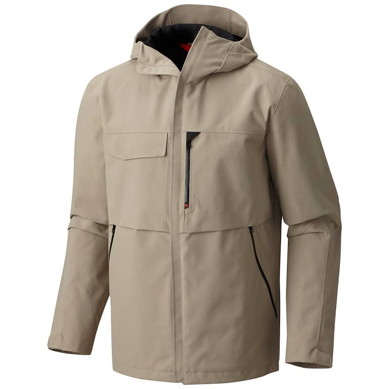 Mountain Hardwear Overlook Shell Jacket Badlands S 1765061103-S