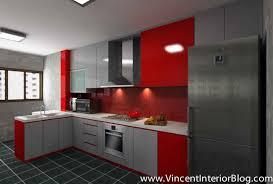 kitchen design singapore hdb flat home design throughout kitchen