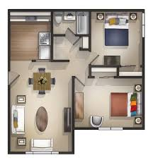 beautiful 2 bedroom apartments plans images interior design