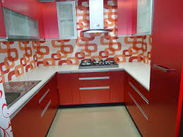 Orange And White Kitchen Ideas Kitchen Ideas Small Red Kitchen Ideas With U Shaped Red Glossy