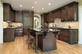 dark oak kitchen cabinets fresh modern kitchen cabinets on blue