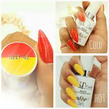 uv nails mood temperature gel polish 48 colors to choose from from