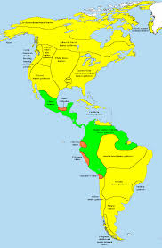 Map Of South America And Caribbean by Pre Columbian Era Wikiwand