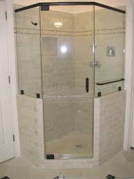 bathroom awesome travertine tile with dreamline shower doors and