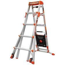 Little Giant Water Pumps Little Giant Adjustable Heavy Duty Step Ladder