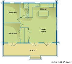 Log Cabin With Loft Floor Plans Small Log Cabin Floor Plans Tiny Time Capsules Lakehouse