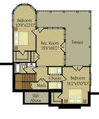Small Cottage Floor Plan Small Cottage Plan With Walkout Basement Small Cottages Cottage