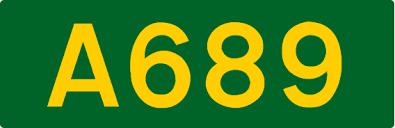 A689 road